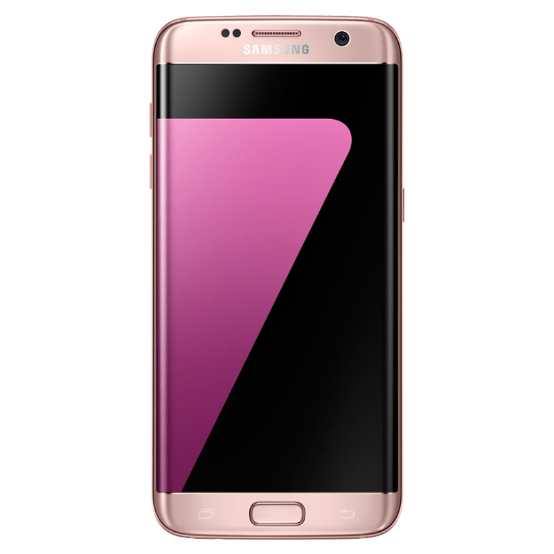 certified renew galaxy s7 edge 32go pink gold unlocked verysmartphones