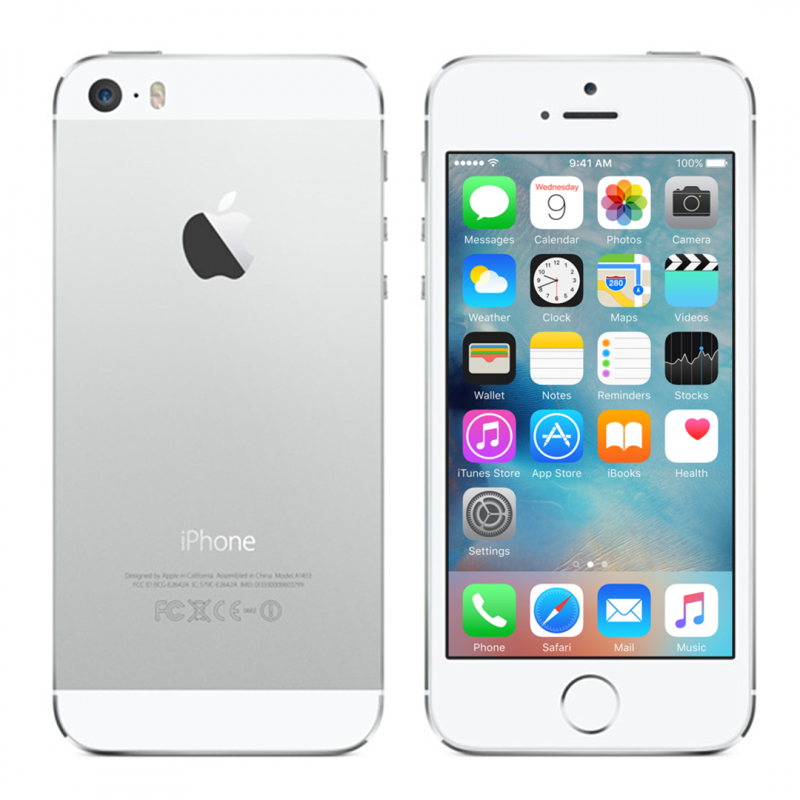 Certified Renew iPhone 5S 64Gb Silver Unlocked | VerySmartPhones
